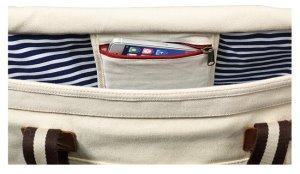 Custom Nautical Heavy Canvas Tote Bags Image 2
