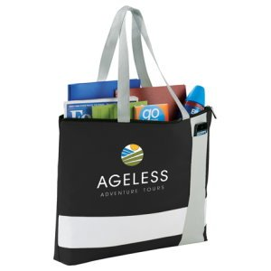 Zippered Business Tote Image 2