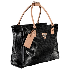 Guess Frosted Shopper Travel Tote