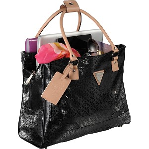 Guess Frosted Shopper Travel Tote Image 4