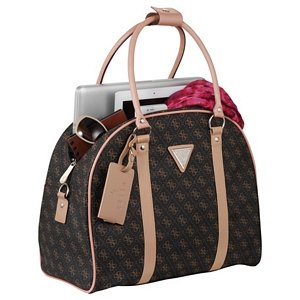 Sophisticated Guess Dome Travel Tote Image 2