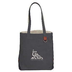 Cotton Shopper Tote Image 2