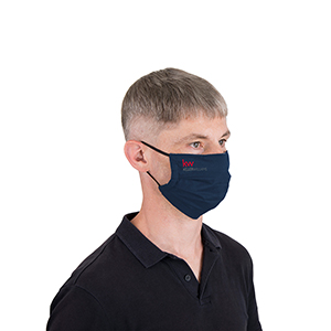 Pleated Reusable Cloth Face Mask Image 2