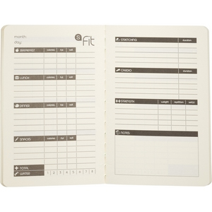 Fitness Jotter 5x2.5 Image 5
