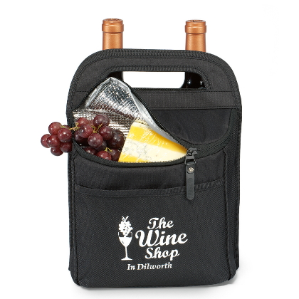 Double Wine Carrier & Cheese Kit  Image 2