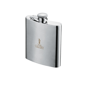 Zippo 8 oz Hip Flask - Stainless Steel Business Gift Idea