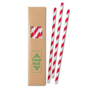 Eco-Friendly Paper Straw Sets Image 2