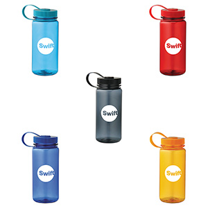 21 oz. Jewel Sport Bottle - Promotional Product - Colorful Image 2