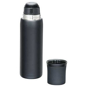 Vacuum Isolating Bottle 16oz. Stainless Steel. Unique Gift Image 2