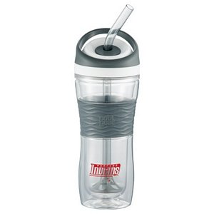 Smoothie Tumbler 20 oz. - Double Wall Insulation - BPA Free Image 2