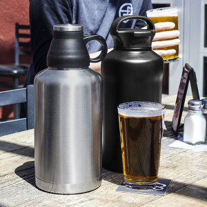 64 oz Copper Insulated Thermal Growler  2