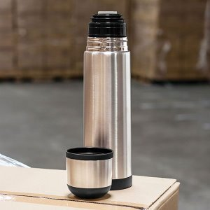 16.5 oz Insulated Copper Thermal Bottle Image 2