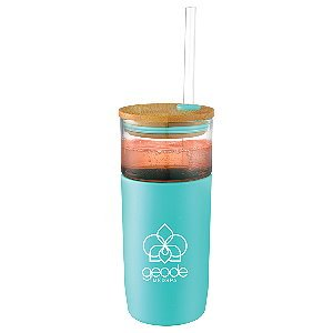 Colored Glass Tumbler 20oz Image 2
