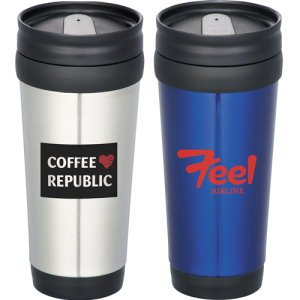 14-oz. Stainless Steel Travel Tumbler Image 2