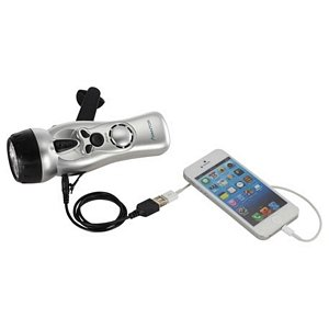 Multi-Function Flashlight with USB Image 2