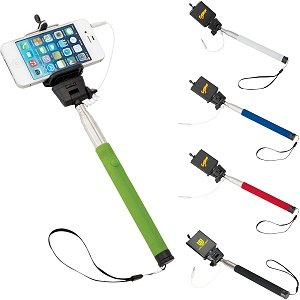 Color Selfie Stick - Fantastic Promotional Item Image 2