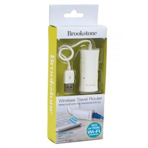 Brookstone Wireless Travel Router Image 2