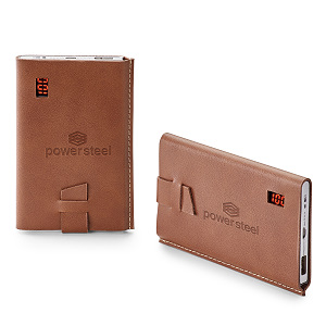 Power Bank With Leather Cover