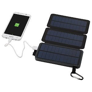 Solar Power Bank with Dual Panels Image 2