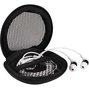Clamp Case Ear Buds with mic