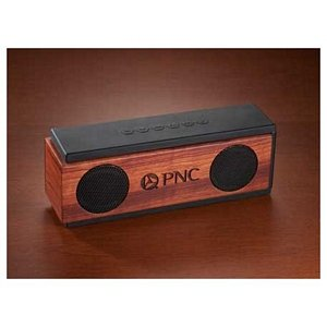 Wooden Bluetooth Speakers Image 2