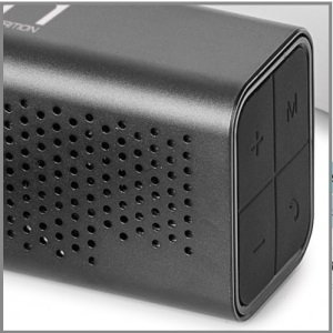 Metal Grill Wireless Speaker- Personalized With Logo Image 2