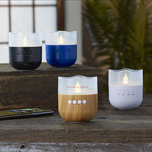 Candle Light Bluetooth Speakers Image 2