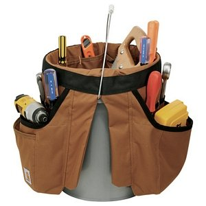 Carhartt 5 Gallon Bucket Organizer - Tool and Gear Pockets Image 2
