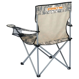 Camo Event Folding Chair Image 2