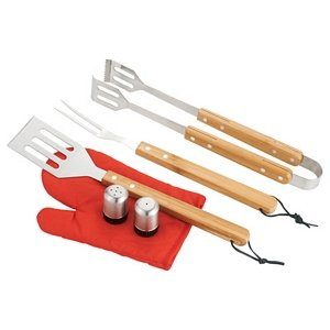 BBQ Apron and 3 piece BBQ Sets Image 2
