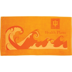 Ocean Wave Beach Towel Image 3