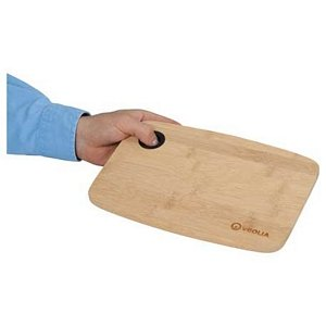 Bamboo Cutting Board with Silicone Grip Image 2