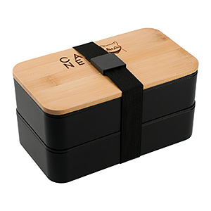 Stackable Bamboo Fiber Bento Boxes