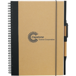 Large Recycled Custom Notebook 7x10