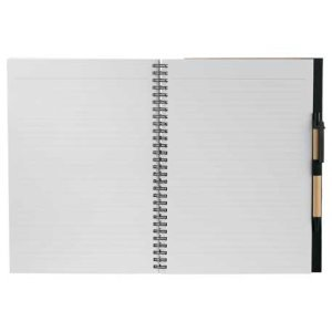 Large Recycled Custom Notebook 7x10 Image 2
