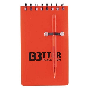 Small Spiral Jotter with Pen