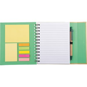 Lock Spiral Notebook 6.5 X 7 Image 2