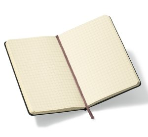 Moleskine 35x55-Pocket Notebook - Customized - Square Grid Pages Image 2