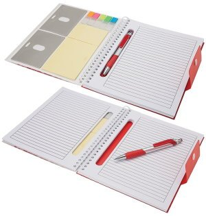 Junior Notebook with Pen & Stickies Image 2