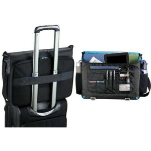 Checkpoint-Friendly Compu-Messenger Bag- Travel Executives Image 2