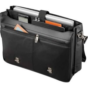 Kenneth Cole Manhattan Leather Compu-Messenger Image 2