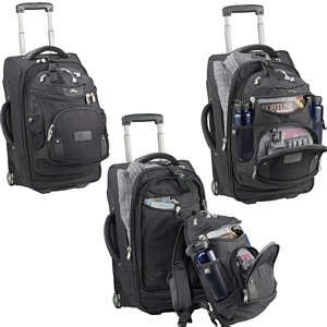 High Sierra Wheeled Carry-On w  DayPack - Blueberry Ink cc42f482171cd