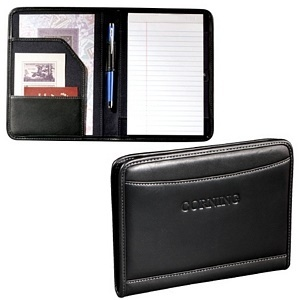 5 x 8 Leather Jr. Writing Pad
