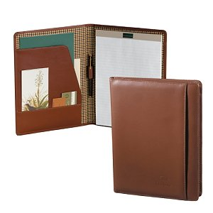Custom Top Grain Leather Padfolio Image 2
