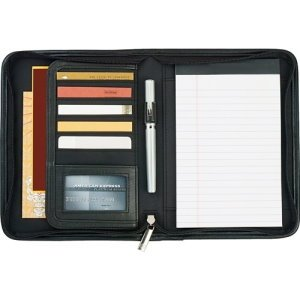 Arched Lines Jr. Writing Pad 5 x 8 - Custom Padfolio Image 2