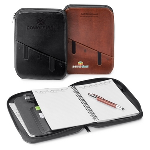 Shell Style Padfolio Case with Writing Pad - Business Gift