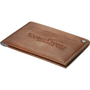 Genuine Leather Travel Wallet Image 2
