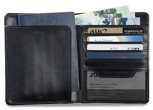 Samsonite Leather Passport Wallet Image 2