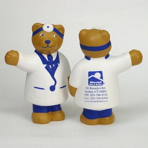 Doctor Bear Stress Reliever