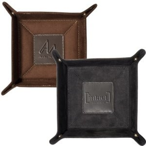 Thick Leather Catch-All Tray Image 2